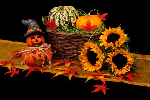 かぼちゃのオバケ