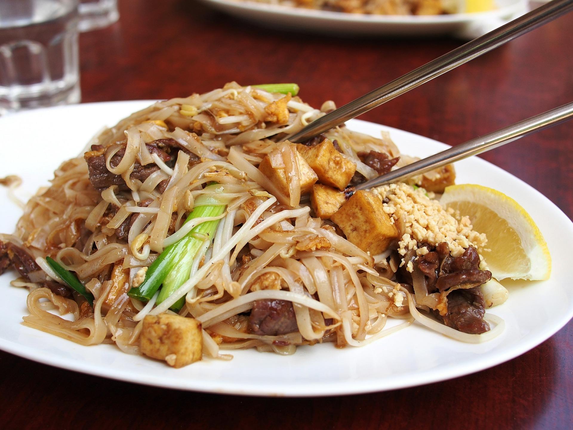 タイ料理 バッタイ
