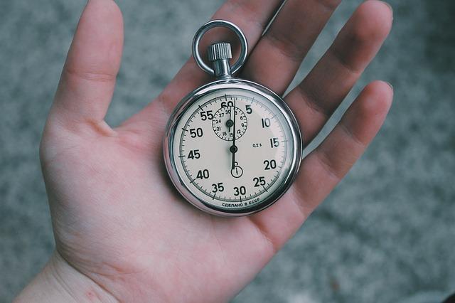 てのひらの時計